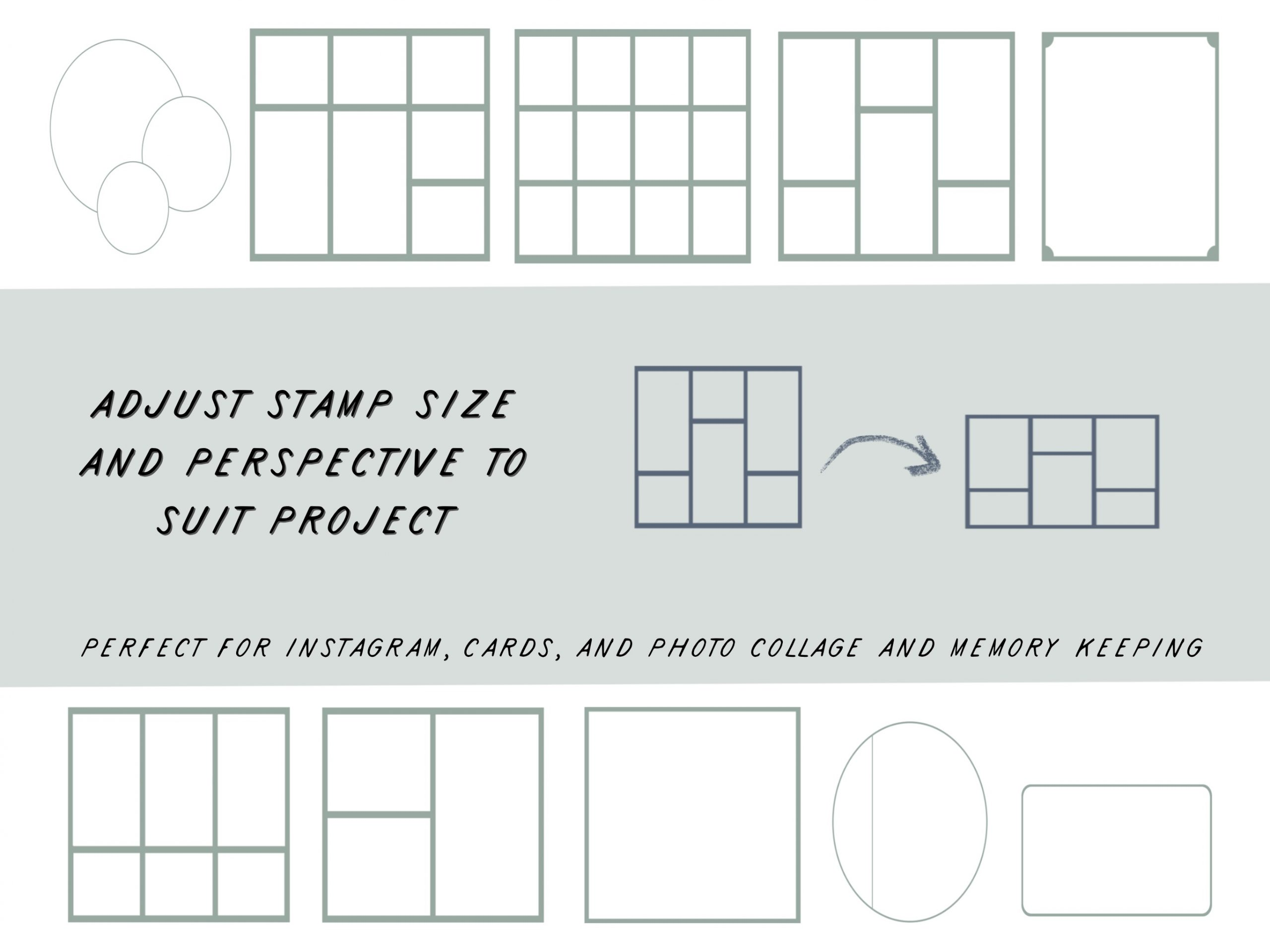 10 Photo Storyboard Stamps