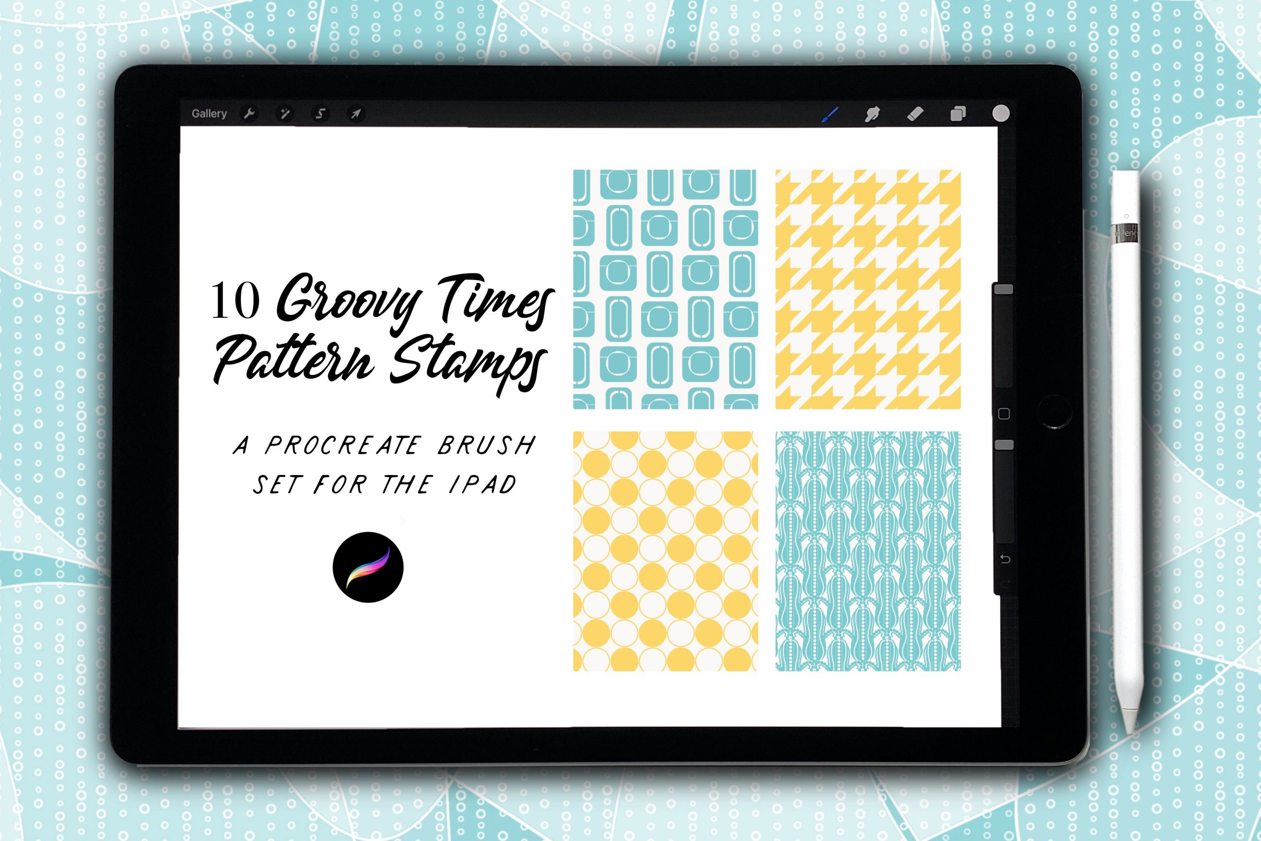 Groovy Times Pattern Stamps