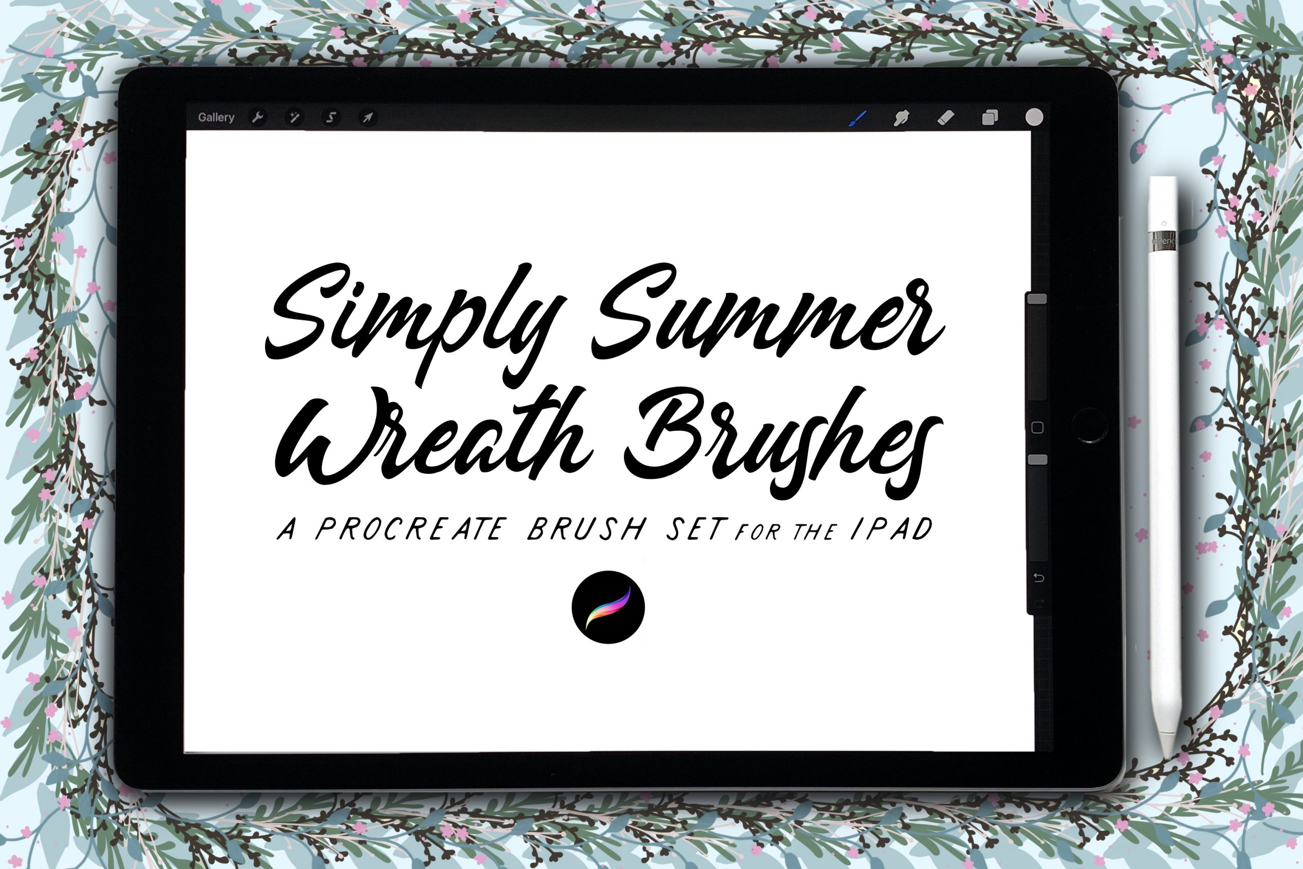 Simply Summer Wreath Brushes
