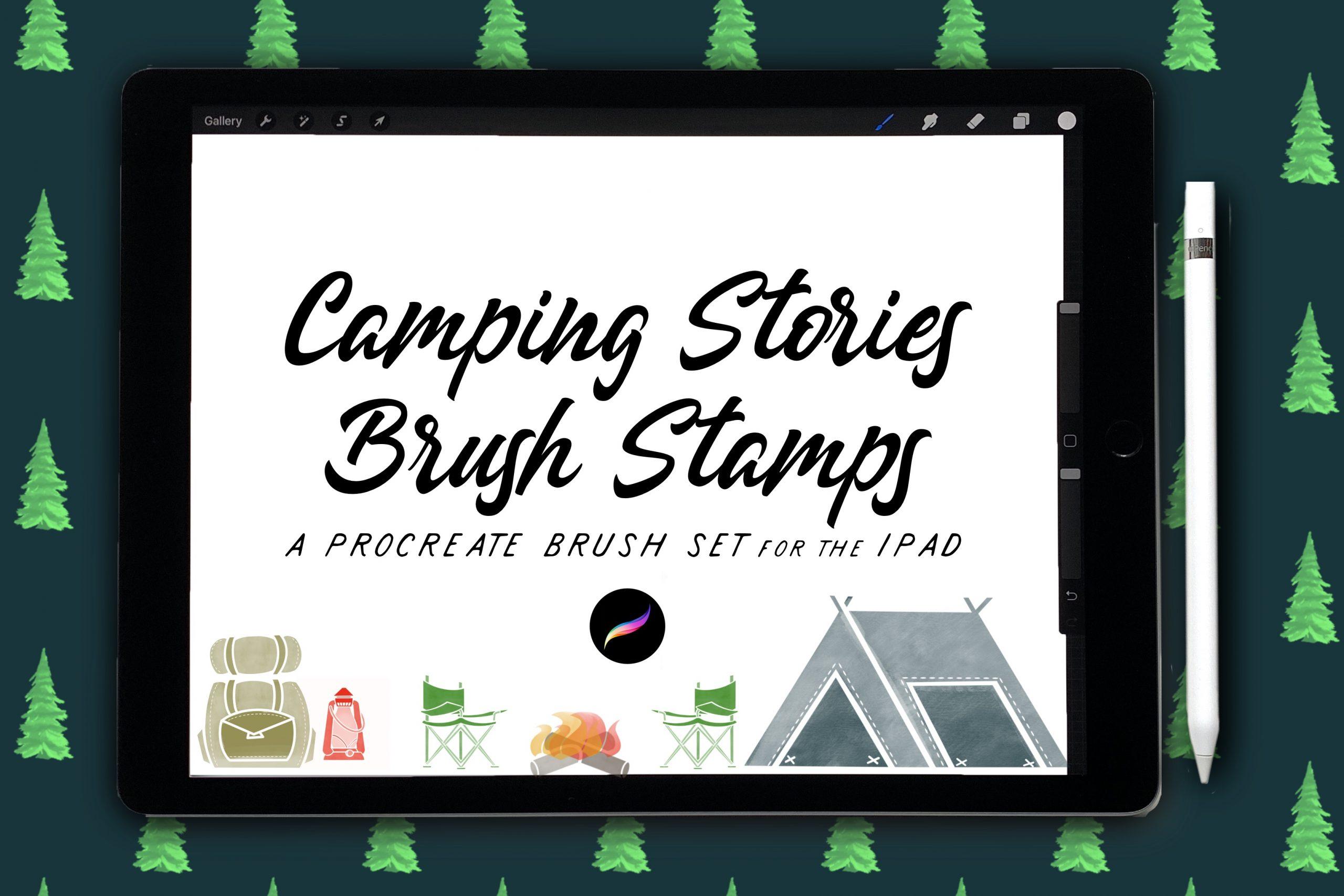 Camping Stories Stamp Set